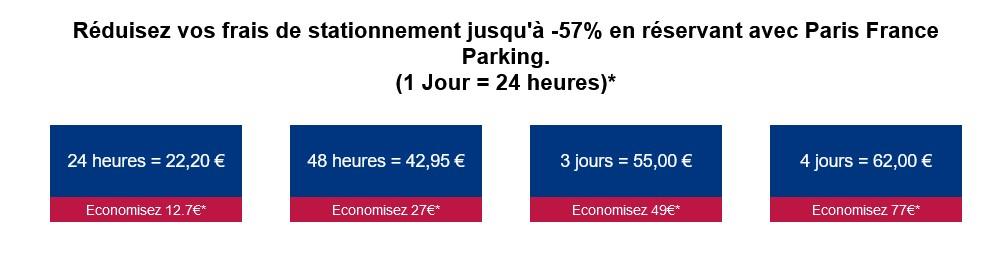 Parking Paris pas cher